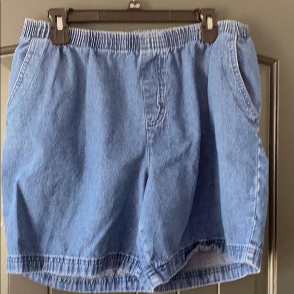 Basic Editions Shorts Womens Poshmark